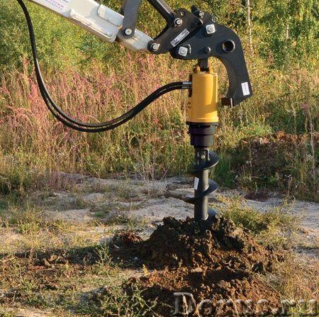Гидровращатель гидробур Delta RD7 к экскаватору погрузчику - Запчасти и аксессуары - Гидровращатель..., фото 3